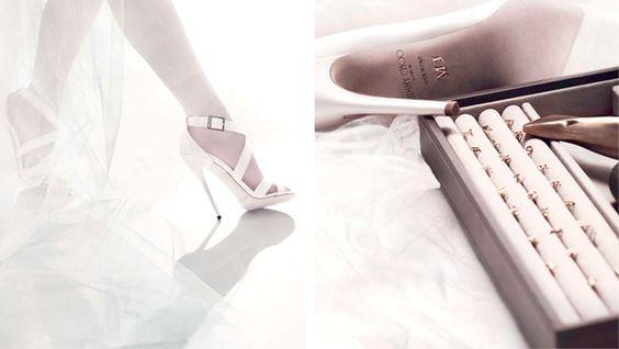 Jimmy Choo Made to Order. Ahora podrás elegir tu color favorito y personalizar tus zapatos nupciales.