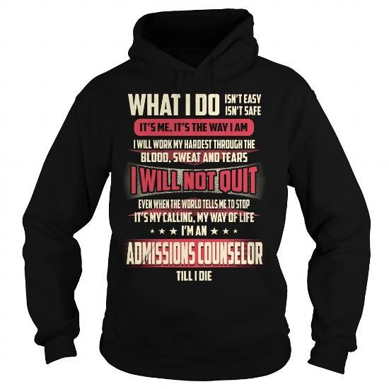 Admissions Counselor Job Title T Shirts, Hoodies. Get it now ==► https://www.sunfrog.com/Jobs/Admissions-Counselor-Job-Title-T-Shirt-Black-Hoodie.html?57074 $39.99