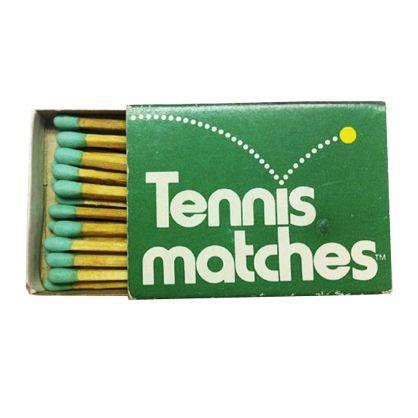 Tennis Matches — Designer unknown