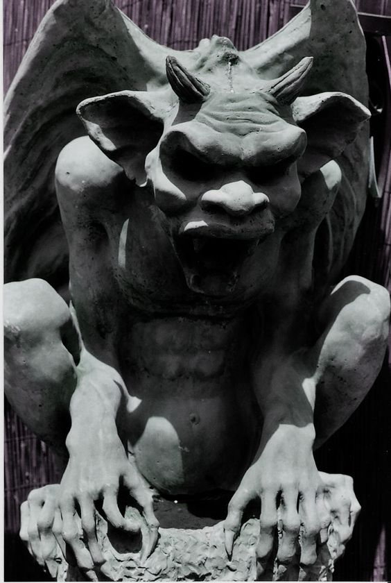 Gargoyle by *ampflo on deviantART. S)