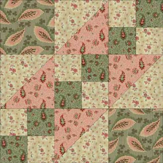 Road to California Quilt Block Pattern: About the Road to California Quilt Block