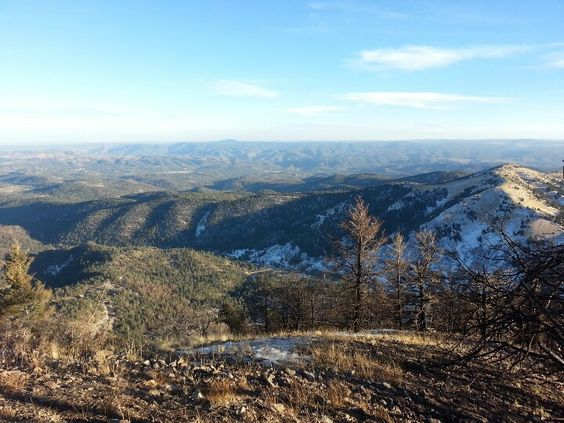 Great view up in the mts of Ruidoso NM