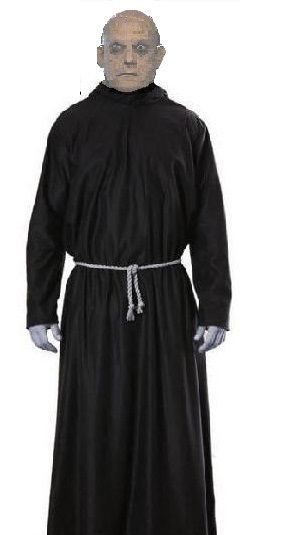 details about creepy uncle fester addams family costume fancy dress halloween adams family. Black Bedroom Furniture Sets. Home Design Ideas