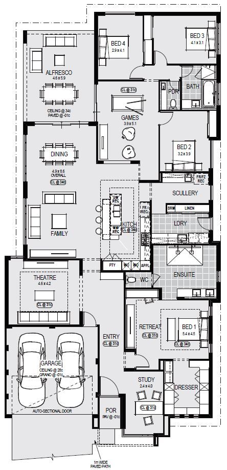 Display Homes Home Group Home Design Floor Plans House Construction Plan Dream House Plans