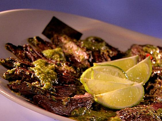 Definitely want to try this recipe! Picture of Gaucho Steak with 4-Herb Chimichurri Recipe