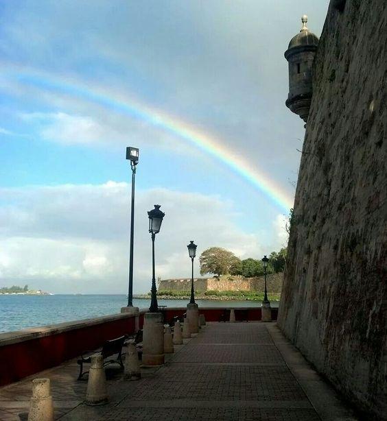 Paseo La Princesa,  Viejo San Juan en Puerto Rico