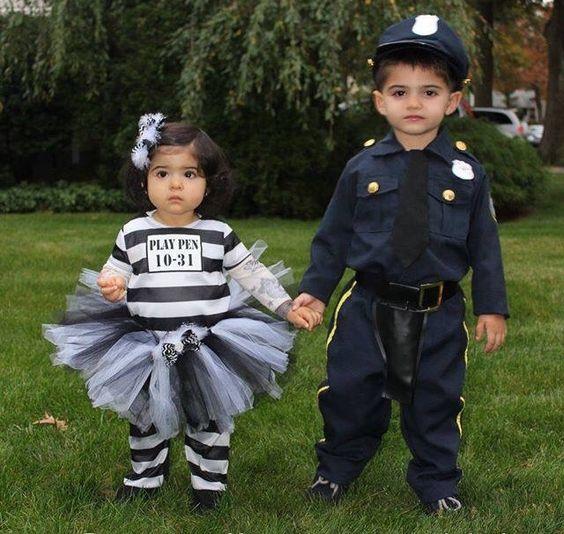 Poliziotto e carcerata