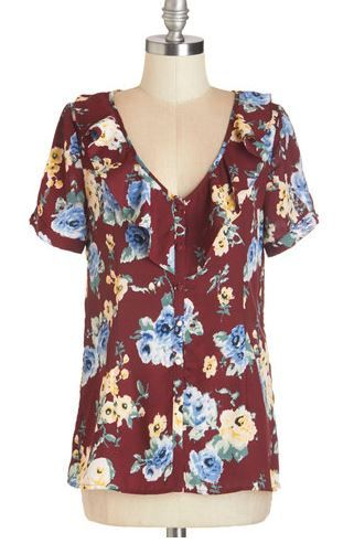Modcloth Myrtlewood Garden Excursion Top 3x NWT  - for sale $20 shipped or trade