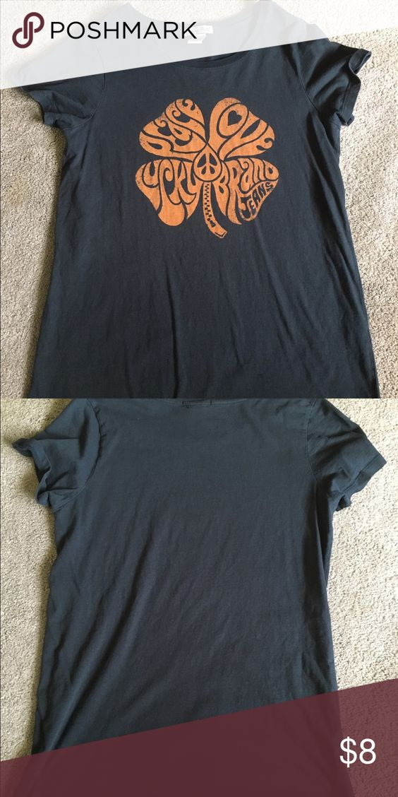 Awesome Lucky Brand tshirt! Super cute Lucky Brand tshirt!! Lucky Brand Tops Tees - Short Sleeve