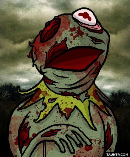 Zombie Kermit! YES!