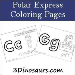 Polar express coloring pages therapy ideas pinterest for Polar express color pages