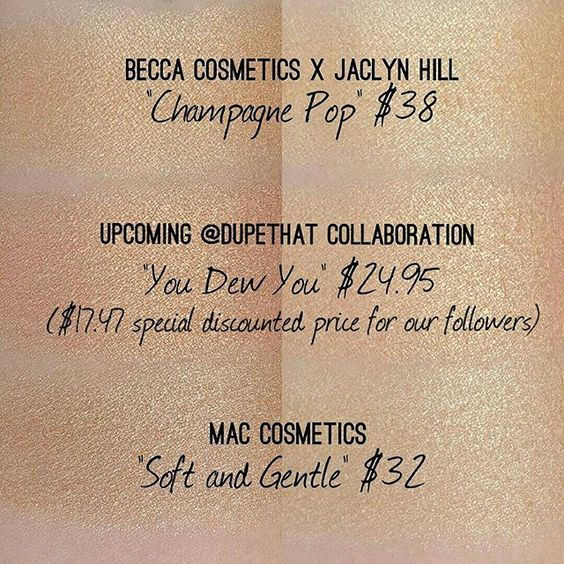 """A lot of you were wondering how our upcoming shade """"You Dew You"""" compares to some current peachy highlights on the market! """"You Dew You"""" was specifically created with a pinky, peach undertone that will flatter skin tones across the board. What do you think of our creation?! We can't wait to see it on all of you!"""