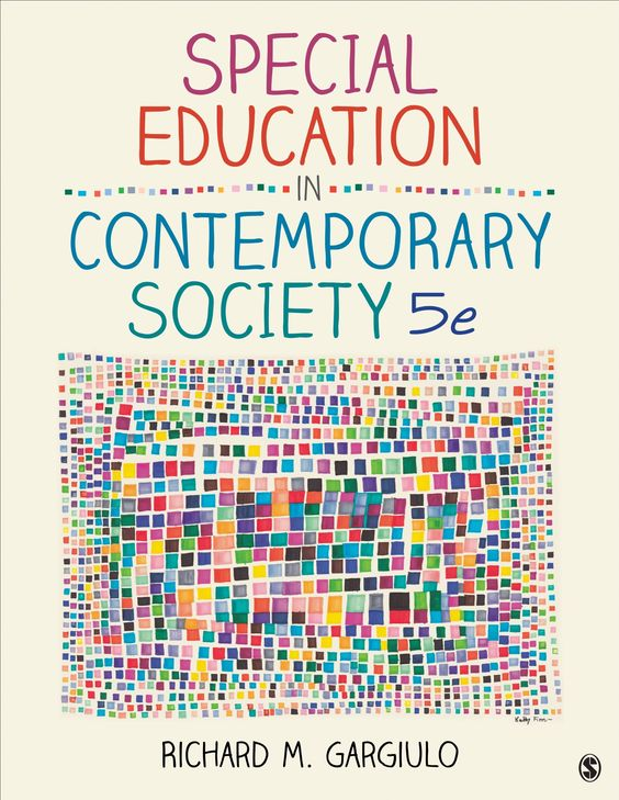 Special education in contemporary society : an introduction to exceptionality / Richard M. Gargiulo.-- 5ª ed.-- Los Angeles ; Londres : Sage, 2014.
