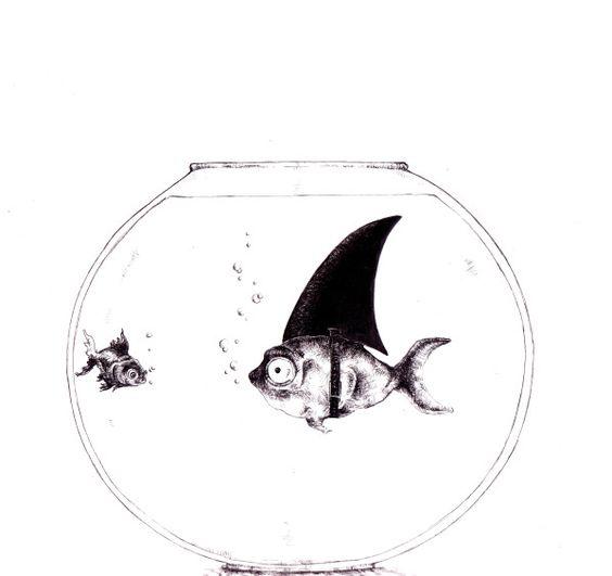 Pinterest the world s catalog of ideas for Bocal aquarium original