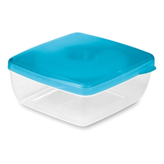 Small cooler box with cooling element attached on translucent lid - Branding Quotation