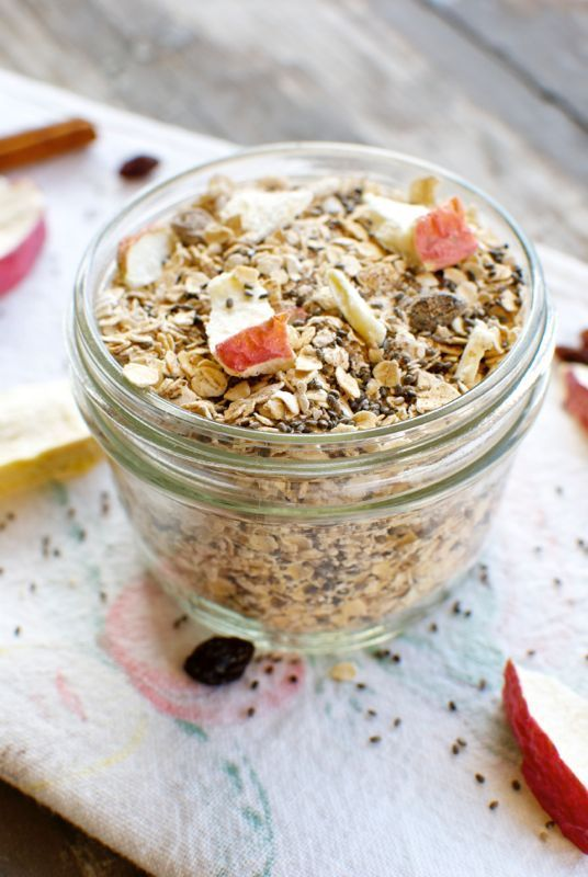 Healthy and Nutrient Packed Breakfast: Homemade Instant Apple Cinnamon Oatmeal - Eating Made Easy