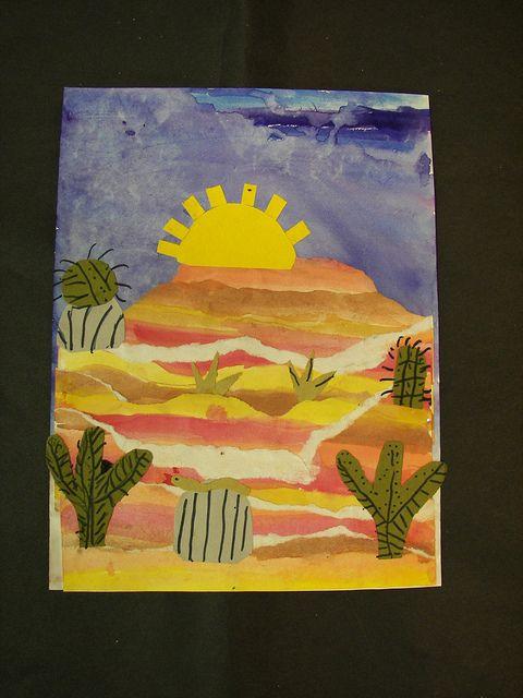 100_6859   Flickr - Photo Sharing! fourth grade desert/Arizona lesson...