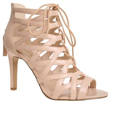 Nine West &39Authority&39 nude strappy sandals - perfect for Spring