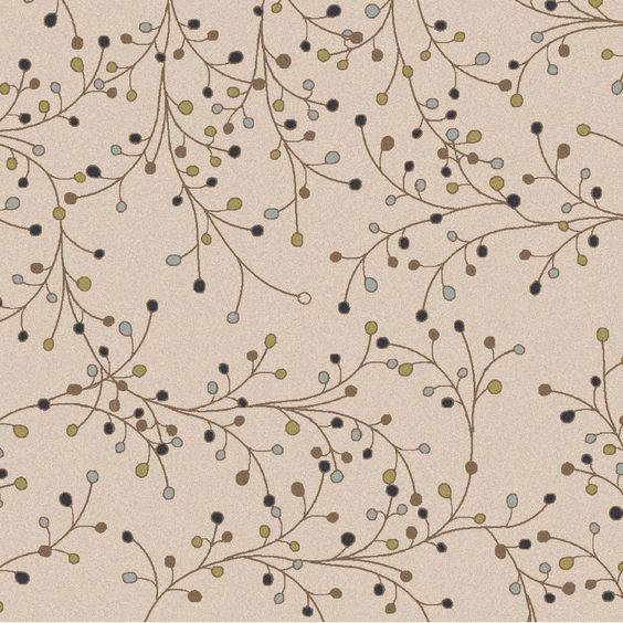 Athena Ivory Floral Area Rug