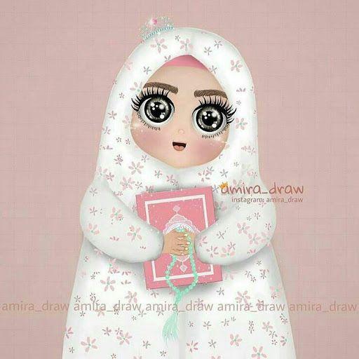 نتيجة بحث الصور عن طفلة تقرا القران Girly M Islamic Cartoon Ramadan Kareem