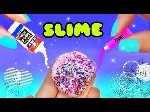 Haz Mini Slime Brillante Con Ingredientes En Miniatura Youtube Limusina De Purpurina Manualidades Creativas Manualidades