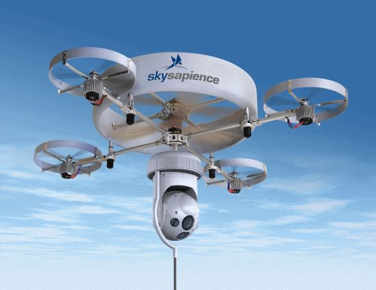 Sky Sapience HoverMast Is An Intelligence Gathering Tethered Flying Machine
