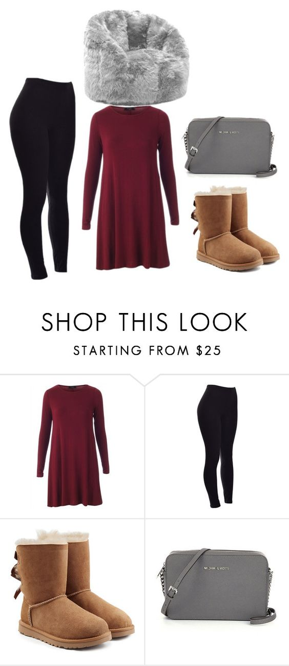 """""""Untitled #231"""" by alyssageithman ❤ liked on Polyvore featuring beauty, UGG Australia and Comfort Research"""