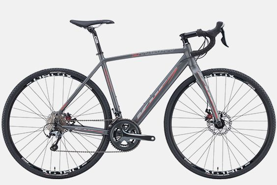 KHS Grit 220  http://www.bicycling.com/bikes-gear/recommended/16-for-2016-the-best-affordable-bikes-of-2016/slide/5
