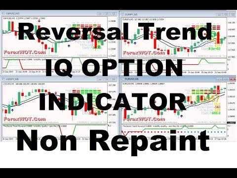 Iq Option Reversal Trend Indicator 2019 Non Repaint Binary