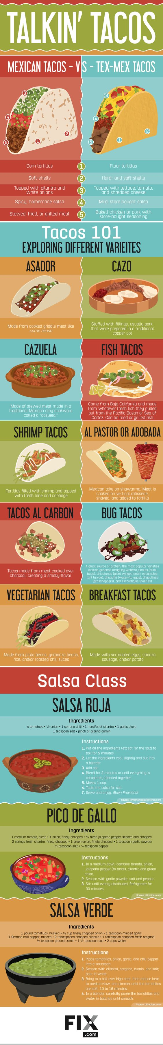 Tacos don't need to be reserved for just Tuesdays! Learn all about authentic Mexican cuisine and bring your taco game to the next level!