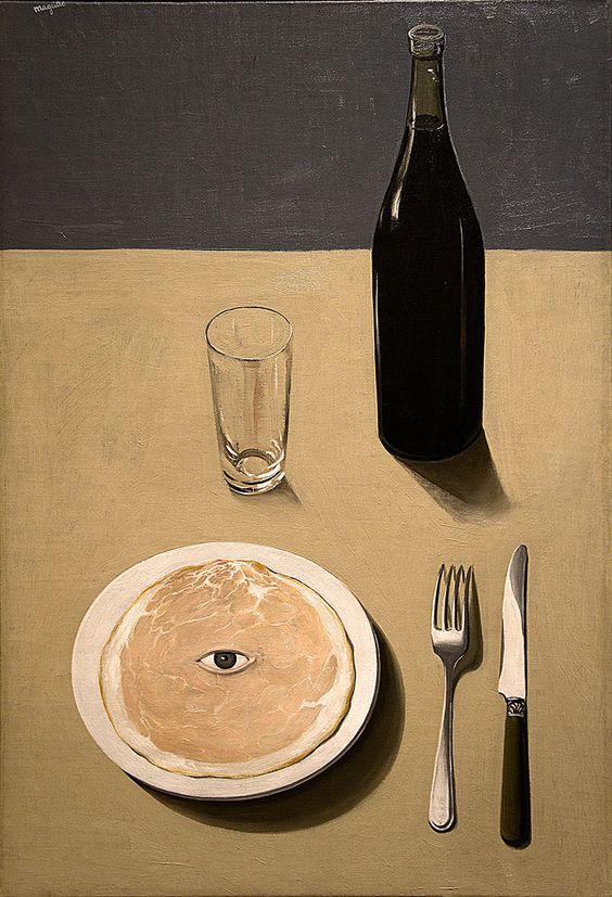 René Magritte. The Portrait. 1935.