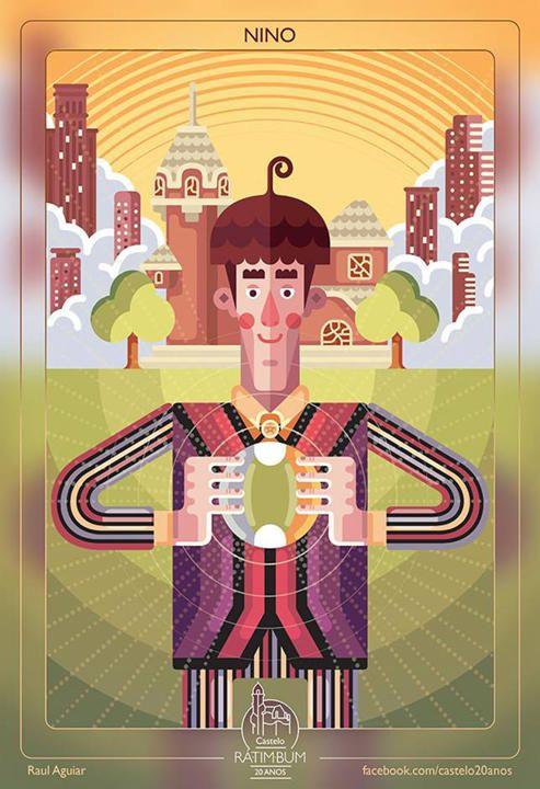 Nino era o protagonista do programa. Alegre e hiperativo, o garoto de 300 anos sonhava em ser aprendiz de feiticeiro, mas tinha pavor do tio querer transformá-lo em um sapo verde com os olhos esbugalhados e a língua azul. O ator Cássio Scapin deu vida ao personagem.