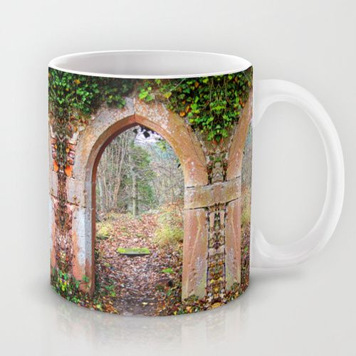 Gate to autumn Mug