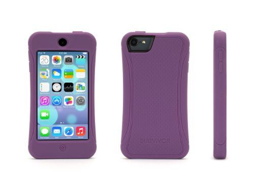 Purple Survivor Slim Protective casefor iPod touch (5th gen.) Griffin Technology http://www.amazon.com/dp/B00HK0ZGVG/ref=cm_sw_r_pi_dp_Bzyjvb05GBE2E