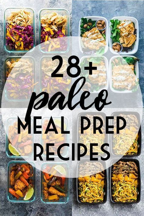 Paleo Meal Prep Recipe Ideas | SweetPeasAndSaffron.com