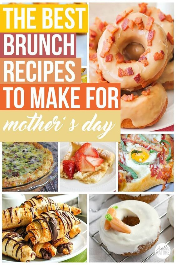 The Best Mother's Day Brunch Recipes - Hello Nature