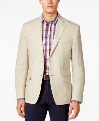 Lauren Ralph Lauren Solid Linen Classic-Fit Sport Coat - Blazers