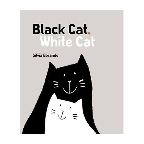Black Cat White Cat by Silvia Borando