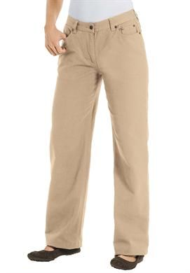 Tall jean, relaxed fit, plus size, 5-pocket styling   Plus Size Tall Pants & Skirts   Woman Within
