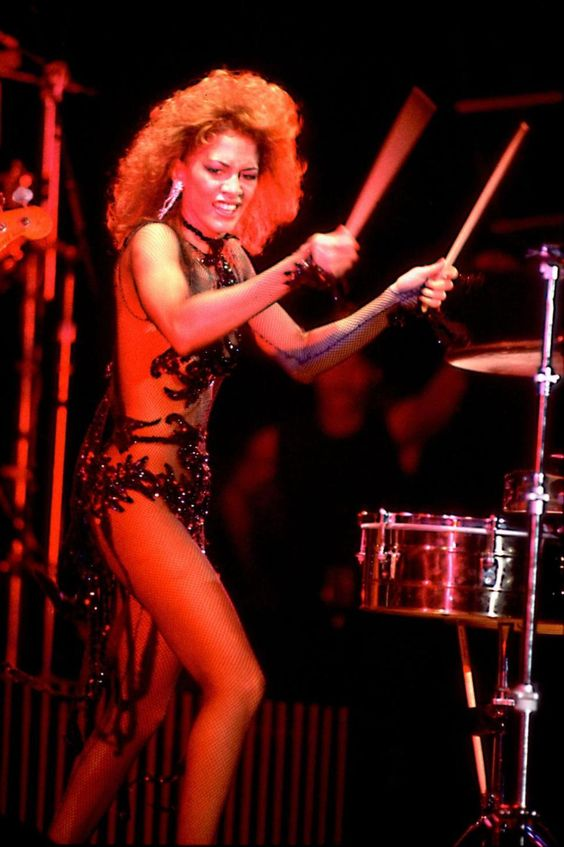 Sheila E. on Dec. 9, 1984 in Chicago, Il.