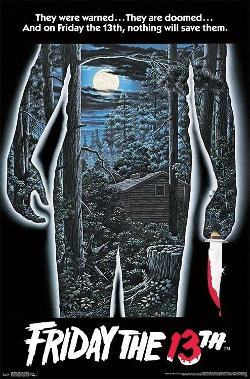 7 50 Was 8 95 16 Off Friday The 13th One Sheet Movie