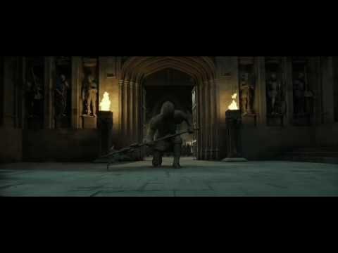 Battle Of Hogwarts Believer Youtube Hogwarts Imagine Dragons Battle