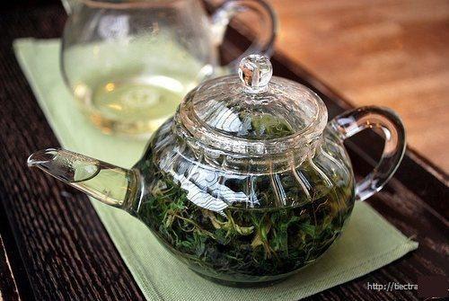 ytesonhuong - trà ngải cứu