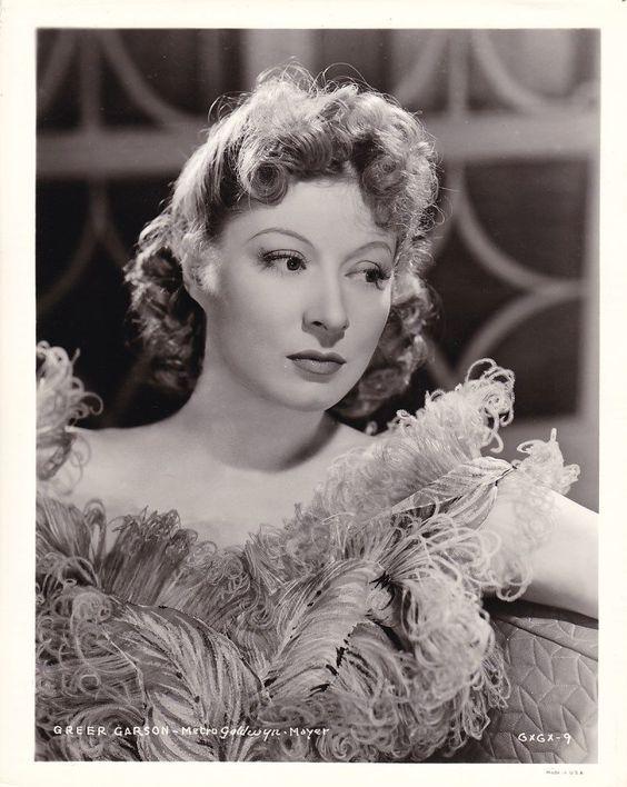Greer Garson Beautiful Original Vintage 1940 MGM Studio Portrait Photo | eBay