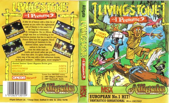 Livingstone supongo version inglesa Retro Gaming Pinterest - dr livingstone i presume book