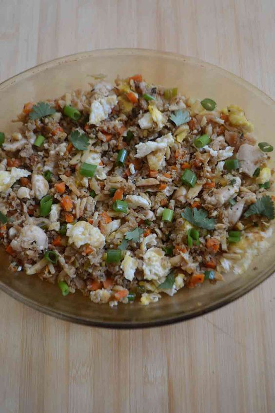 One night I was craving Chicken Fried Rice, but the thought of going to a Chinese Restaurant and dealing with all of the nasties involved with that, caused me to create this chicken fried cauliflower recipe.  I just did not want to deal with the bad oils, the gluten in the soy sauce, all the ...