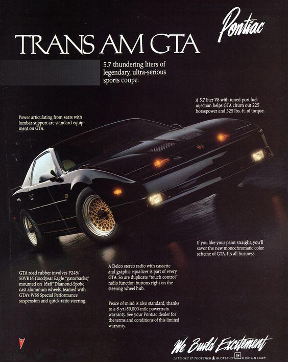 pontiac firebird trans am gta 1989