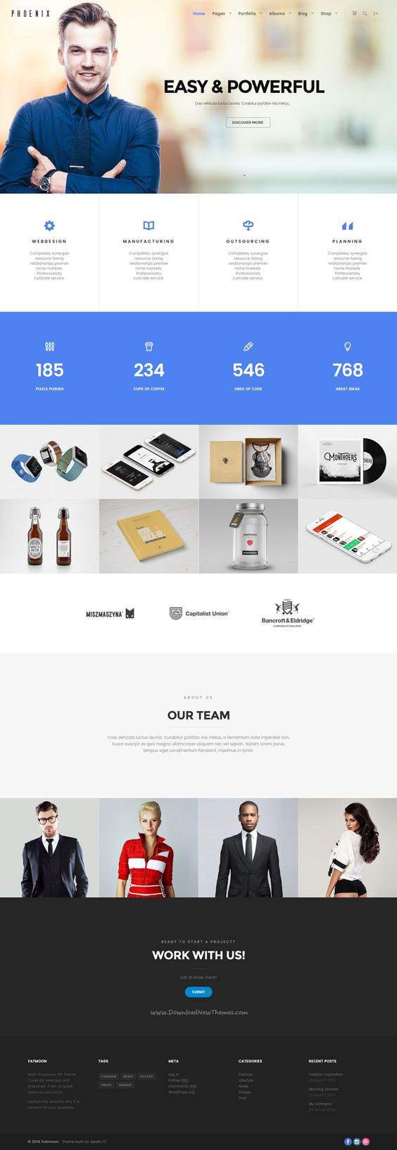 FatMoon is Creative WordPress Theme for multipurpose photography website with 41+ unique homepages demos. Download Now➝ https://themeforest.net/item/fatmoon-creative-photography-multipurpose-theme/15966469?ref=Datasata