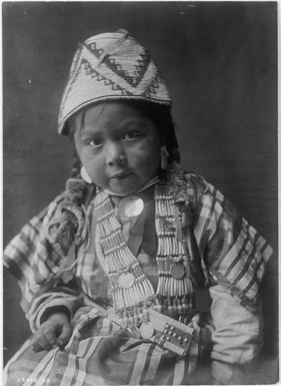 Wishham Child by Edward Sheriff Curtis::