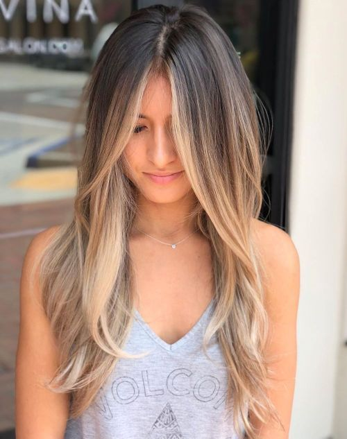 70 Flattering Balayage Hair Color Ideas For 2020 In 2020 Balayage Hair Balyage Long Hair Brown Blonde Hair
